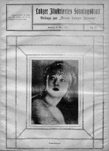 """Lodzer Illustriertes Sonntagsblatt: Beliage zur ,,Neuen Lodzer Zeitung"""" 25 kwiecień 1926 nr 17"""