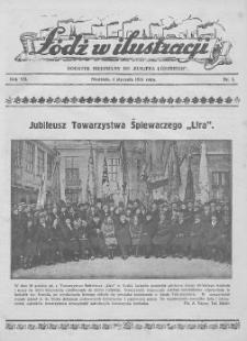 """Łódź w Ilustracji : dodatek niedzielny do """"Kurjera Łódzkiego"""" 1931 (Nr 1-53)"""