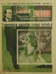 Harry Dickson. Przygody Zagadkowego Człowieka 1938 nr 2