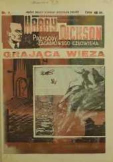 Harry Dickson. Przygody Zagadkowego Człowieka 1938 nr 7