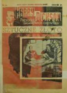 Harry Dickson. Przygody Zagadkowego Człowieka 1938 nr 29