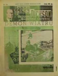 Harry Dickson. Przygody Zagadkowego Człowieka 1938 nr 40