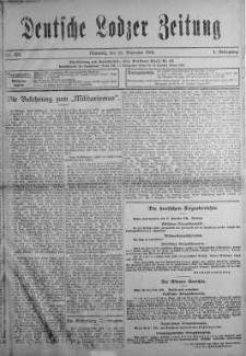 Deutsche Lodzer Zeitung 29 grudzień 1915 nr 321