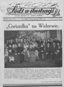 """Łódź w Ilustracji : dodatek niedzielny do """"Kurjera Łódzkiego"""" 1935 (Nr 1-52)"""