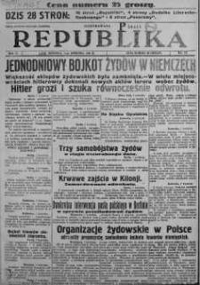 Ilustrowana Republika 2 kwiecień 1933 nr 92