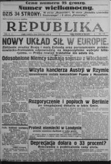 Ilustrowana Republika 15 kwiecień 1933 nr 105