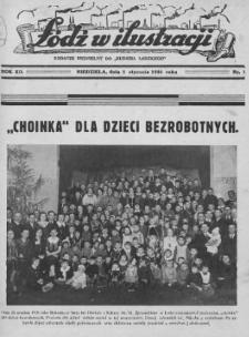 """Łódź w Ilustracji : dodatek niedzielny do """"Kurjera Łódzkiego"""" 1936 (Nr 1-26)"""