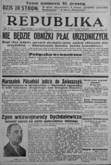 Ilustrowana Republika 3 wrzesień 1933 nr 245