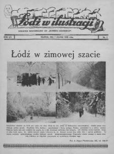 """Łódź w Ilustracji : dodatek niedzielny do """"Kurjera Łódzkiego"""" 1939 (Nr 1-34)"""