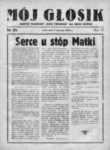 Mój Głosik : dodatek tygodniowy Głosu Porannego dla naszej dziatwy R. 7.1935 nr 23