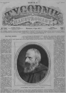 Tygodnik Illustrowany 1872, Nr 236-261. Tom X. Seria 2