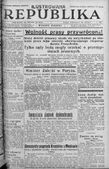 Ilustrowana Republika 3 grudzień 1926 nr 334