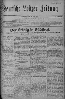 Deutsche Lodzer Zeitung 18 maj 1916 nr 137