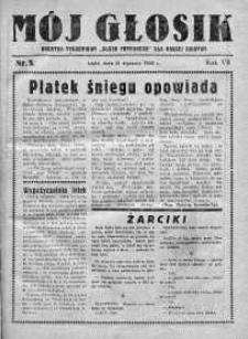 Mój Głosik : dodatek tygodniowy Głosu Porannego dla naszej dziatwy R. 8.1936 nr 5