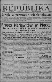Ilustrowana Republika 4 październik 1928 nr 275