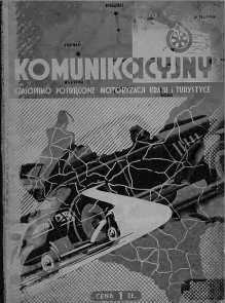Pionier Komunikacyjny: czasopismo poświęcone motoryzacji kraju i turystyce 1939 czerwiec nr 3