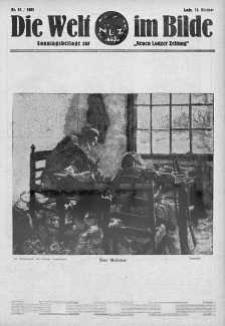 """Die Welt im Bilde. Sonntagsbeilage zur """"Neuen Lodzer Zeitung"""" 15 październik 1933 nr 42"""