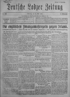 Deutsche Lodzer Zeitung 21 maj 1918 nr 139