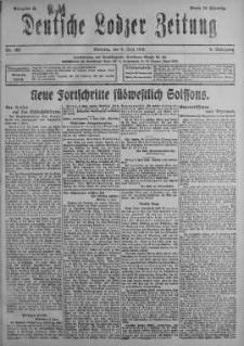 Deutsche Lodzer Zeitung 4 czerwiec 1918 nr 153