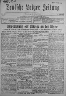 Deutsche Lodzer Zeitung 6 czerwiec 1918 nr 155