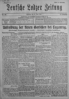 Deutsche Lodzer Zeitung 16 czerwiec 1918 nr 165