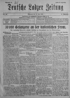 Deutsche Lodzer Zeitung 19 czerwiec 1918 nr 168
