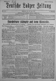 Deutsche Lodzer Zeitung 22 czerwiec 1918 nr 171