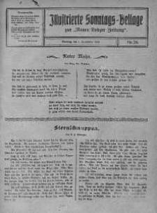 Illustrierte Sonntags Beilage zur Neue Lodzer Zeitung 1 wrzesień 1918 nr 36
