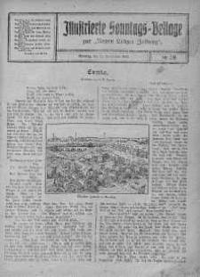 Illustrierte Sonntags Beilage zur Neue Lodzer Zeitung 15 wrzesień 1918 nr 38