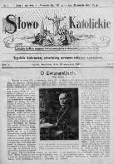 Słowo Katolickie : Tygodnik Ilustrowany Poświęcony Sprawom Religijno-Społecznym 26 kwiecień 1925 nr 17