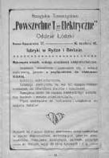 Czas: kalendarz na rok 1911