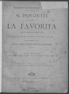 La Favorita : drama serio in quattro atti. Vol. 1.
