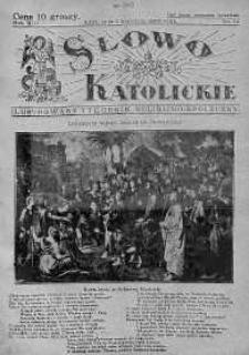 Słowo Katolickie : Tygodnik Ilustrowany Poświęcony Sprawom Religijno-Społecznym 5 kwiecień 1936 nr 14