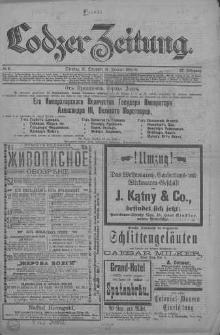 Lodzer Zeitung 1895, nr 6,9; Jg 32