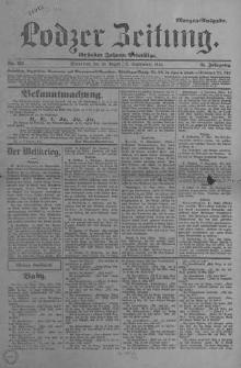 Lodzer Zeitung 1914, nr 412-572 (Liczne braki); Jg 51