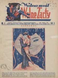 Wolna Myśl Wolne Żarty : tygodnik polityczno-satyryczny, ilustrowany : artystyczno-literacki, satyryczno-humorystyczny R. 13, 1931 nr 3-52