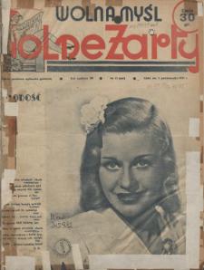 Wolna Myśl Wolne Żarty : tygodnik polityczno-satyryczny, ilustrowany : artystyczno-literacki, satyryczno-humorystyczny R. 20, 1937 nr 37,37a, 41,45