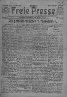 Lodzer Freie Presse : verbreitetste deutsche Tageszeitung in Polen 1920