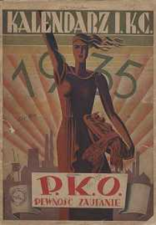 Kalendarz Ilustrowanego Kuryera Codziennego na rok 1935