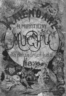 """Kalendarz Humorystyczny """"Muchy"""" dla Porządnych Ludzi. 1876"""
