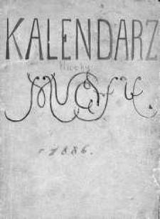 """Kalendarz Humorystyczny """"Muchy"""" dla Porządnych Ludzi. 1886"""