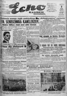 Echo Kaliskie Ilustrowane. Rok 1934, R. II, nr 207-237