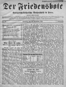 Der Friedensbote. Evangelisch-Lutherische Wochenschrift in Polen 18 grudzień 1927 nr 51