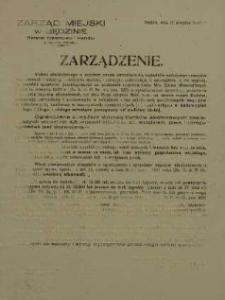 Zarządzenie. 12 sierpnia 1948 r.
