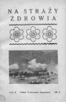 Na Straży Zdrowia 1936 nr 8