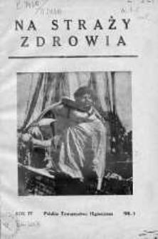 Na Straży Zdrowia 1938 nr 1
