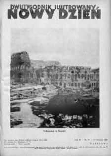 Nowy Dzień : dwutygodnik ilustrowany 15 sierpień 1938 nr 47