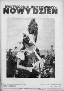 Nowy Dzień : dwutygodnik ilustrowany 1 październik 1938 nr 51