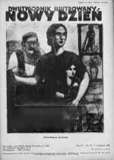 Nowy Dzień : dwutygodnik ilustrowany 1 listopad 1938 nr 53