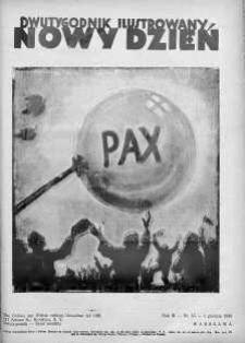 Nowy Dzień : dwutygodnik ilustrowany 1 grudzień 1938 nr 55